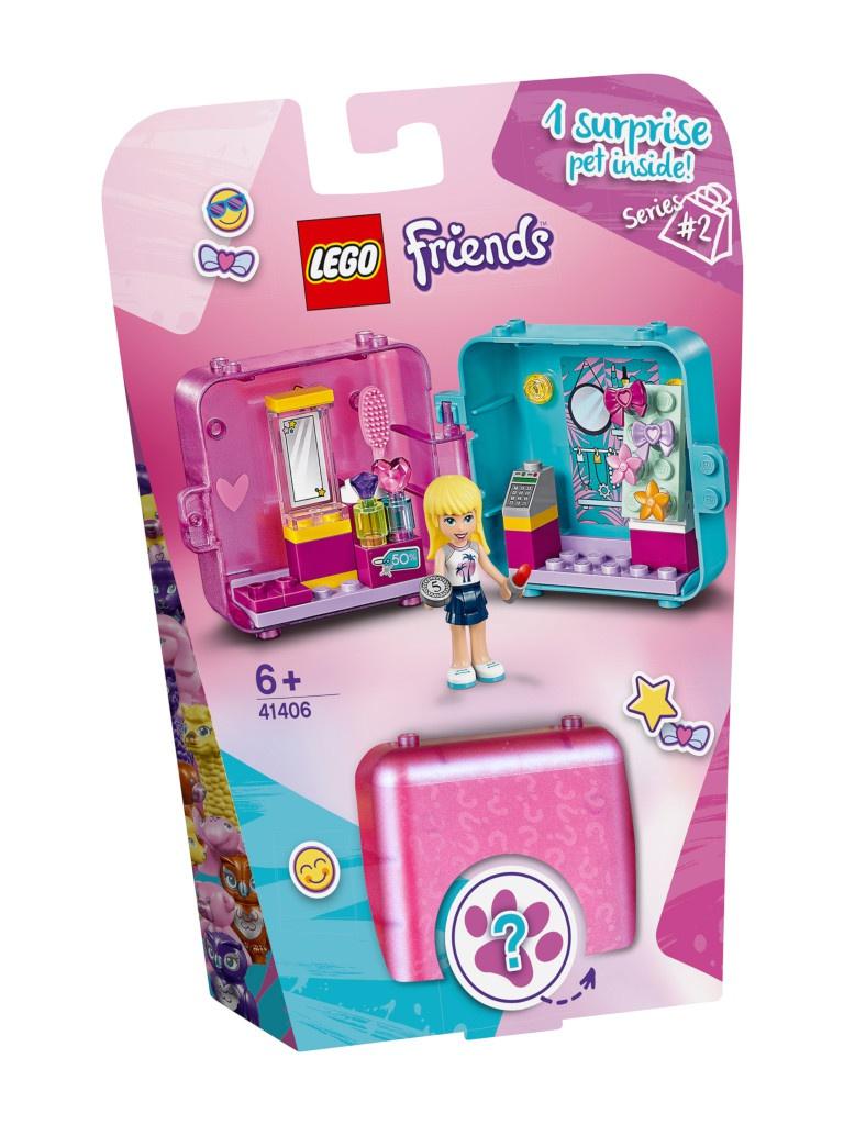 Конструктор Lego Friends Игровая шкатулка Покупки Стефани 44 дет. 41406