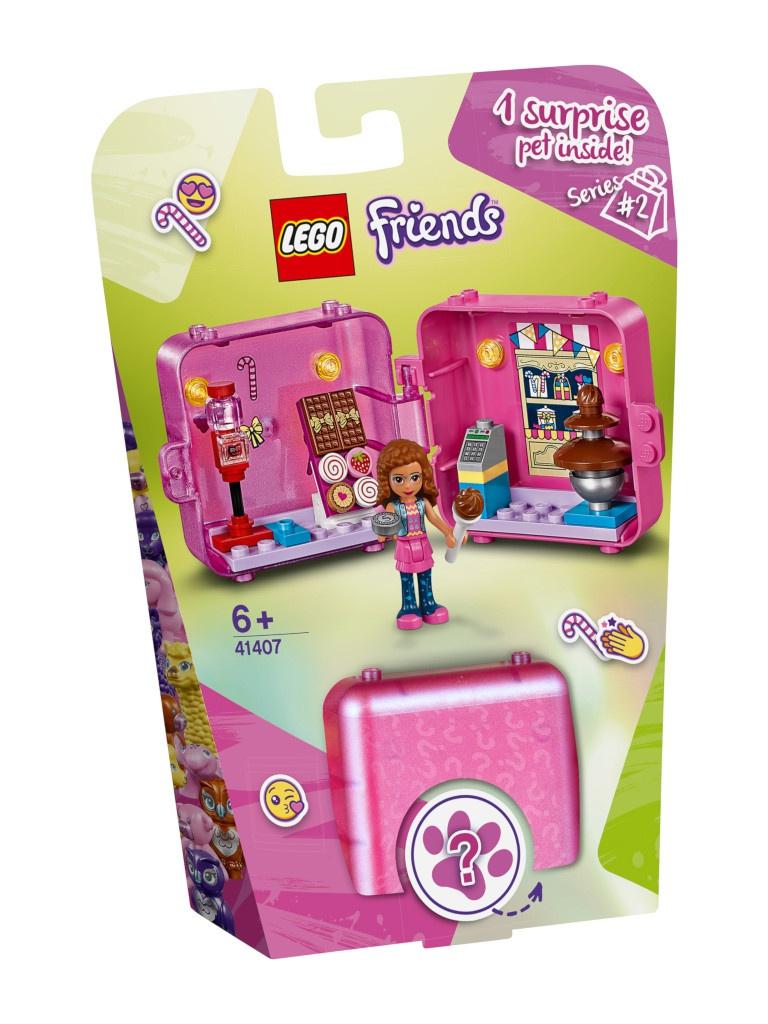 Конструктор Lego Friends Игровая шкатулка Покупки Оливии 47 дет. 41407