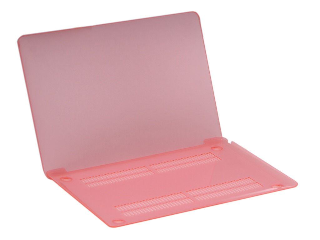 Аксессуар Чехол Gurdini для APPLE MacBook Air 13 New 2018 Plastic Matt Pink 907724