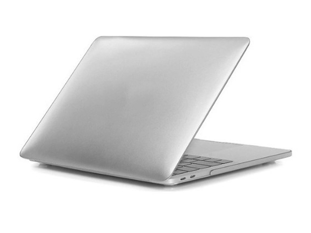 Аксессуар Чехол Gurdini для APPLE MacBook Retina 13 Plastic Matt Silver 904544