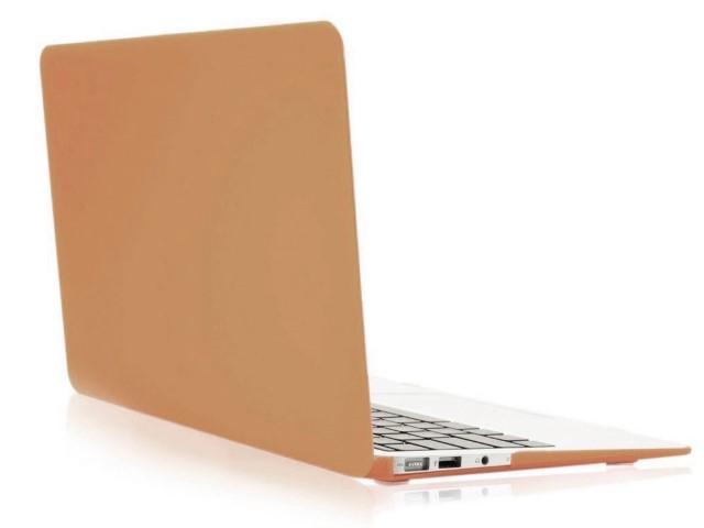 Аксессуар Чехол Gurdini для APPLE MacBook Air 11 Plastic Matt Gold 220176