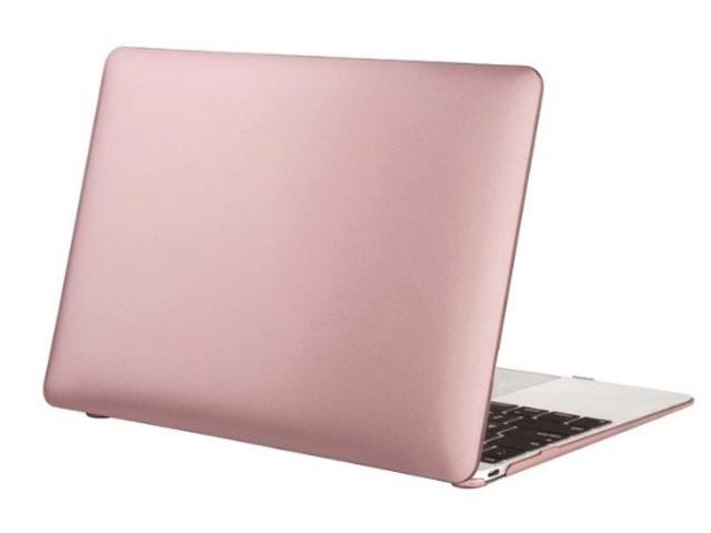 Аксессуар Чехол Gurdini для APPLE MacBook 12 Plastic Matt Rose Gold 900124