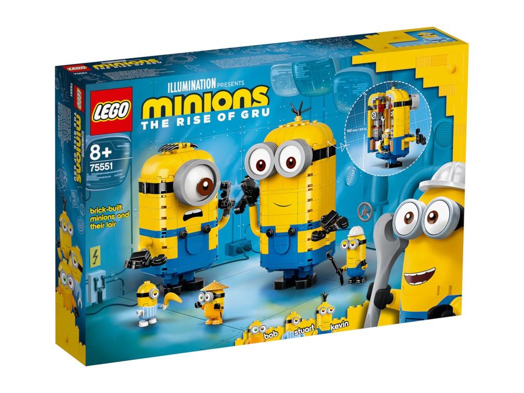 Конструктор Lego Minions Фигурки миньонов и их дом 876 дет. 75551