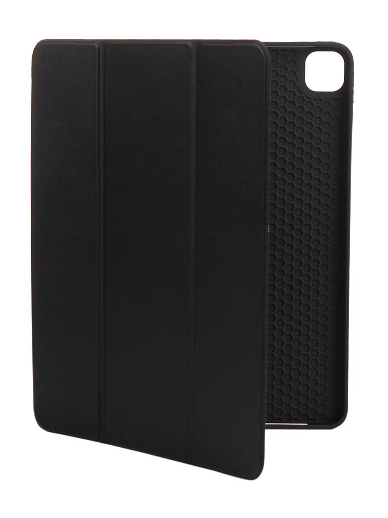 Чехол Gurdini для APPLE iPad Pro 12.9 New (2020) Leather Series Black 912676