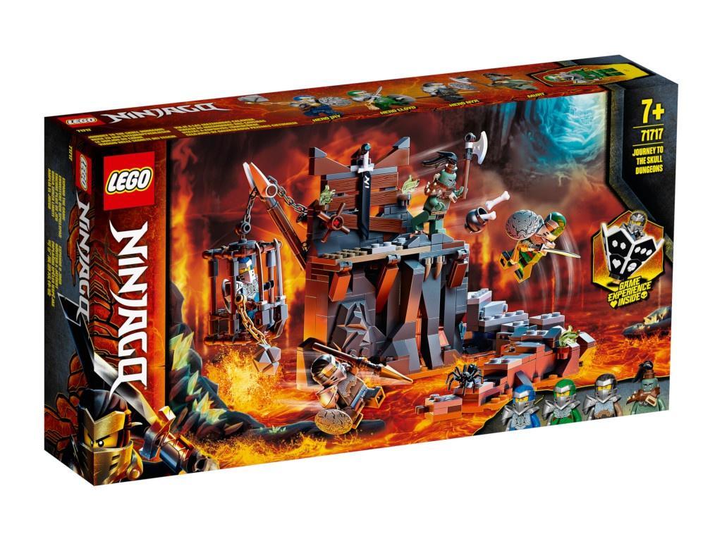 Конструктор Lego Ninjago Путешествие в Подземелье черепа 401 дет. 71717