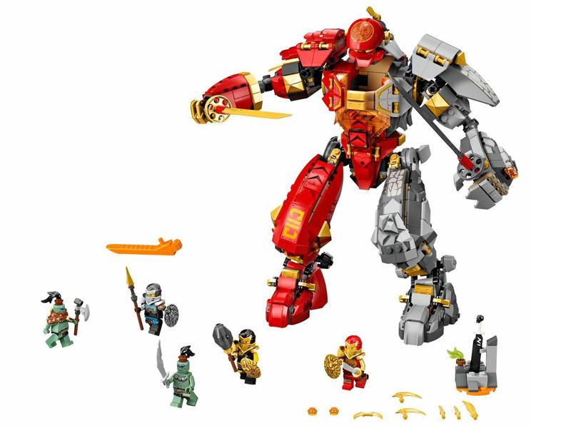 Конструктор Lego Ninjago Каменный робот огня 968 дет. 71720