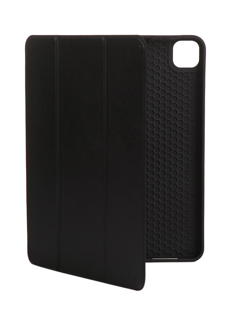 Фото - Чехол Gurdini для APPLE iPad Pro 11 New (2020) Leather Series Black 912665 чехол для ipad pro 12 9 apple leather sleeve black
