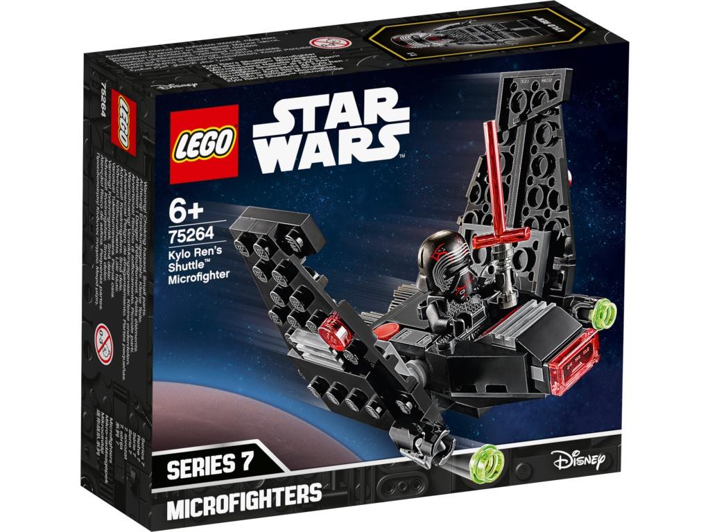 Конструктор Lego Star Wars Микрофайтеры: шаттл Кайло Рена 72 дет. 75264