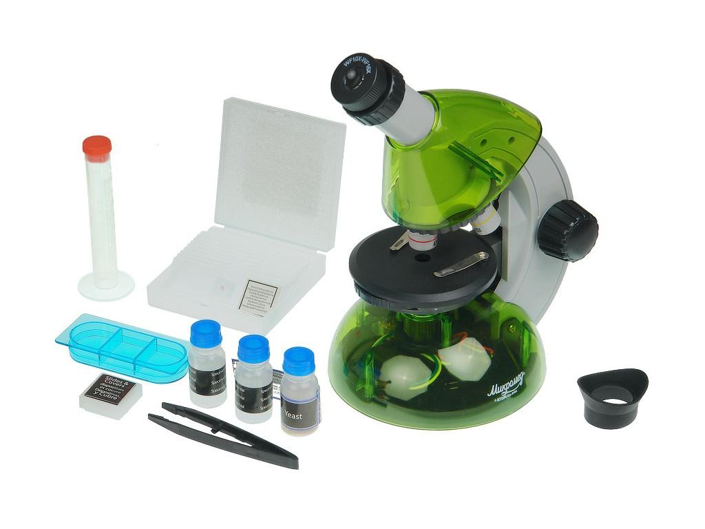 Микроскоп Микромед Атом 40x-640x Lime