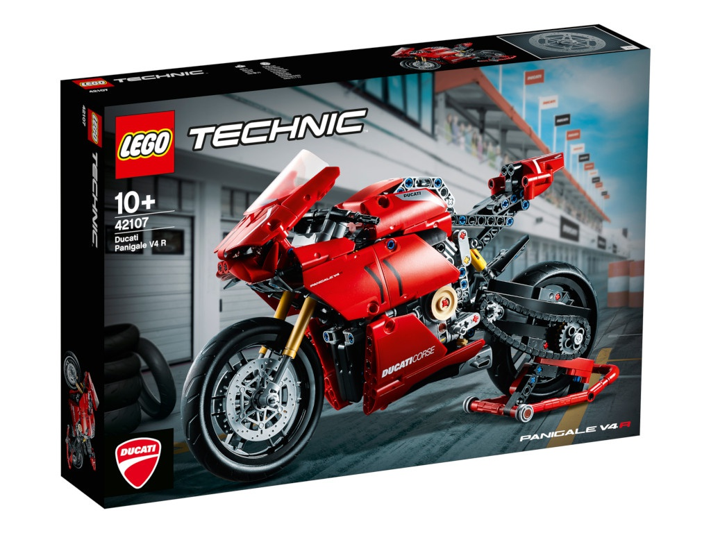 Конструктор Lego Technic Ducati Panigale 646 дет. 42107