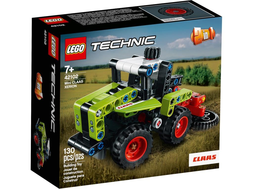 Конструктор Lego Technic Mini Claas Xerion 130 дет. 42102