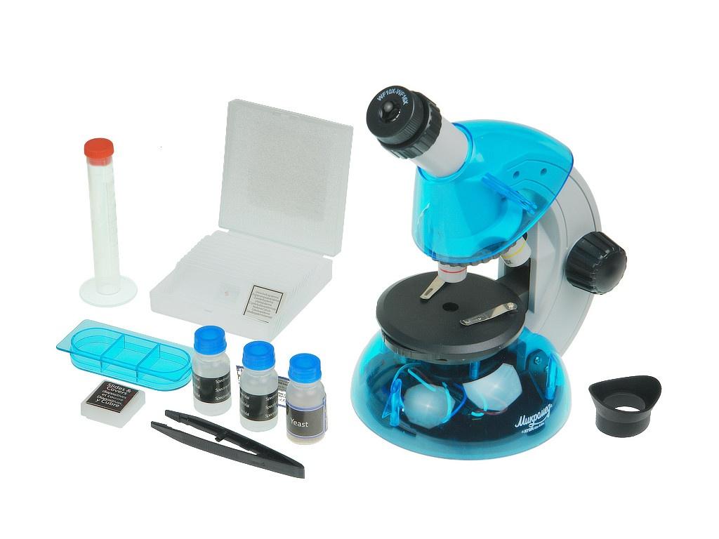 Микроскоп Микромед Атом 40x-640x Azure