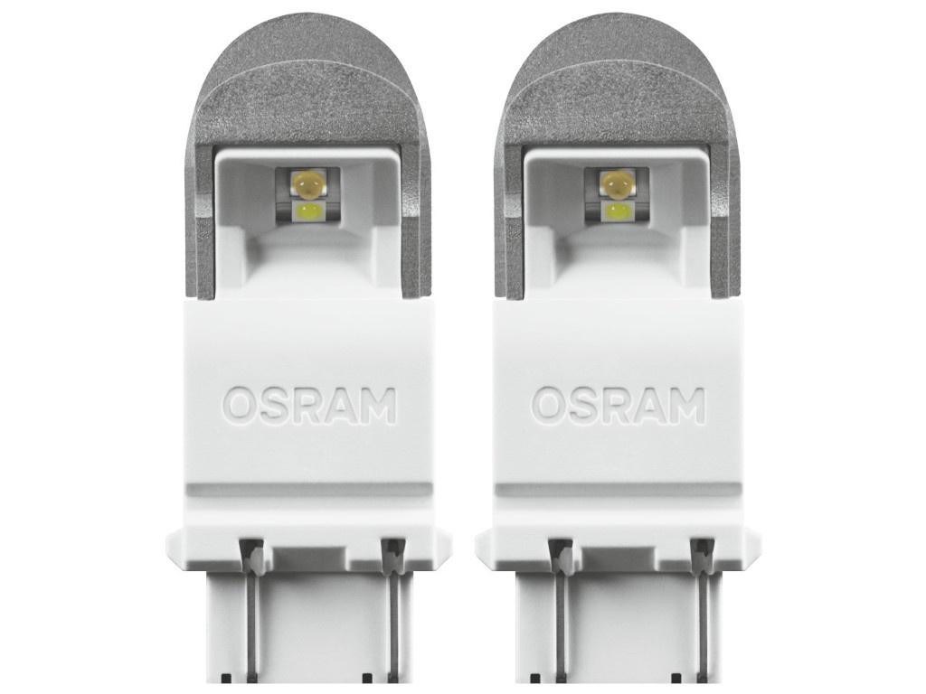 Лампа Osram P27/7W 12V-LED 1.42/0.54W (W2.5x16d) Cool White S-8 3557CW-02B