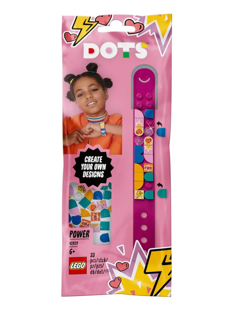 Конструктор Lego Dots Браслет Молния 33 дет. 41919