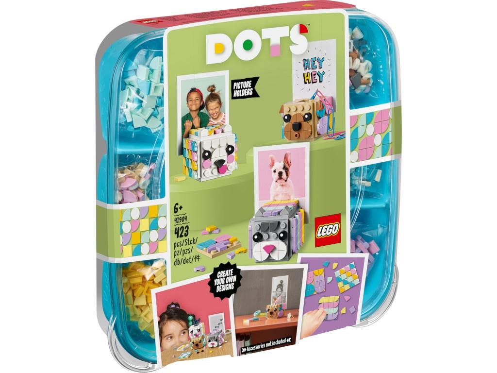 Конструктор Lego Dots Подставки для фото Животные 423 дет. 41904