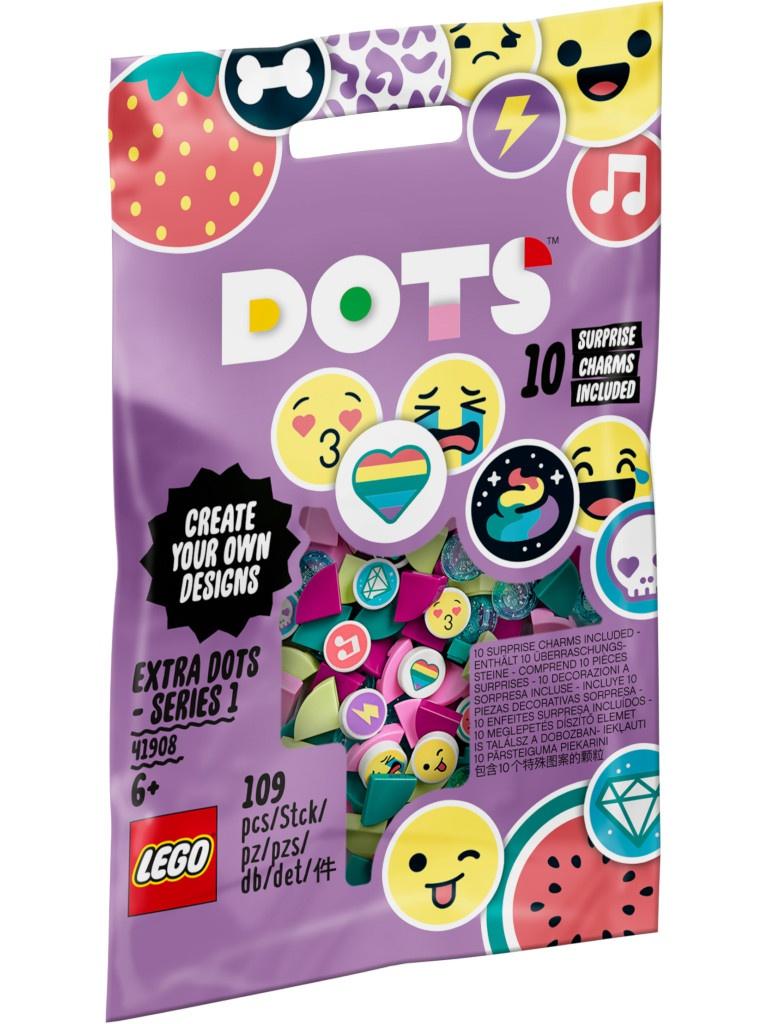 Конструктор Lego Dots Дополнительные элементы 109 дет. 41908
