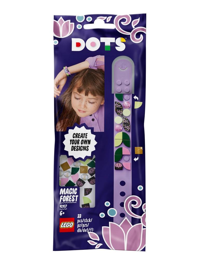 Конструктор Lego Dots Браслет Волшебный лес 33 дет. 41917