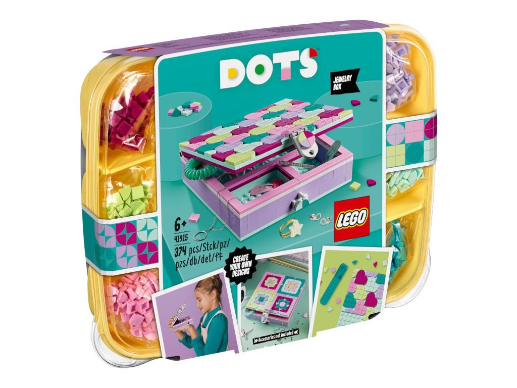 Конструктор Lego Dots Шкатулка для драгоценностей 374 дет. 41915