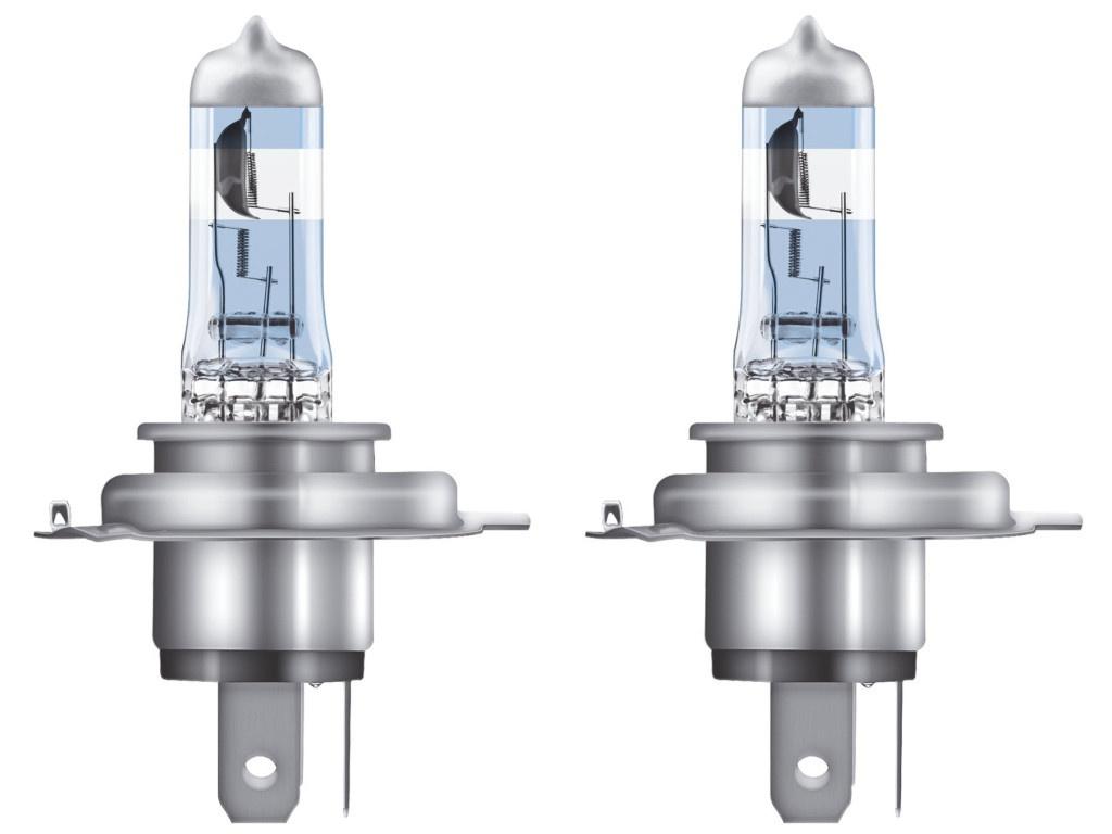 Лампа Osram H4 12V- 60/55W (P43t) Night Racer 110 2шт 64193NR1-02B