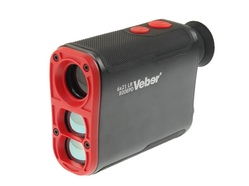 Дальномер Veber 6x21 LR 800EPD 27396 лазерный дальномер veber 6x25 lrf600 зеленый