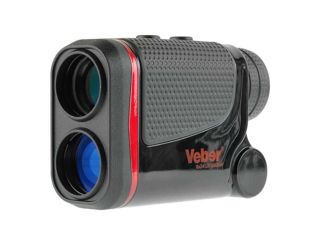 Дальномер Veber 6x24 LR 1500AW 27584 лазерный дальномер veber 6x25 lrf600 зеленый