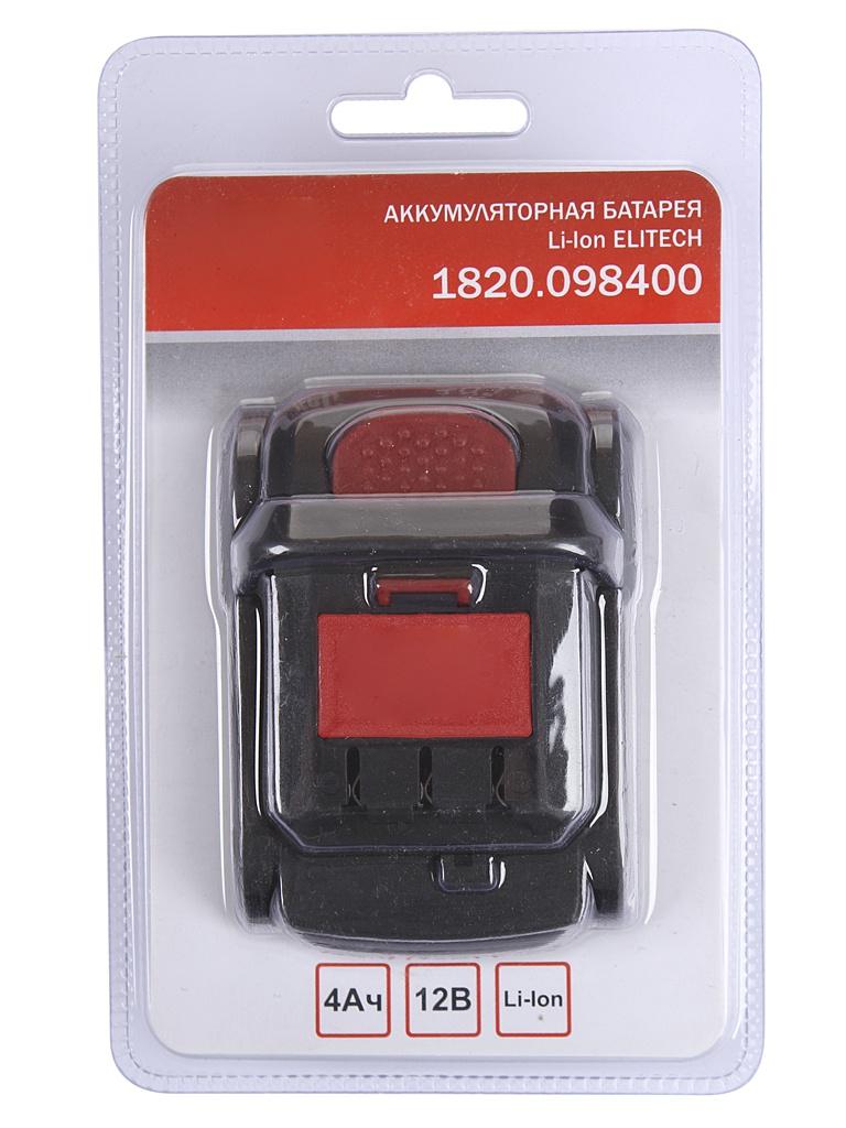 Аккумулятор Elitech Li-ion 12V 4.0Ah 1820.098400