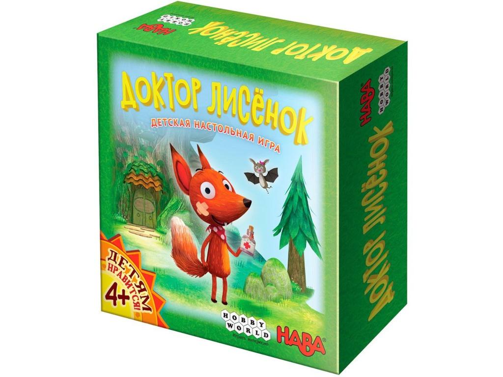 Настольная игра Hobby World Доктор Лисёнок 915130