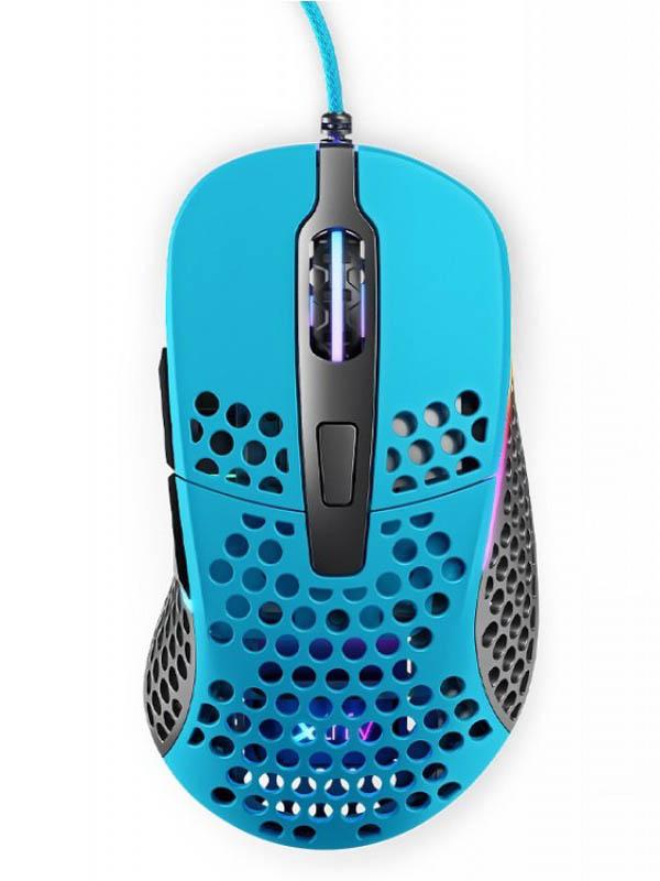 Мышь Xtrfy M4 RGB Miami Blue