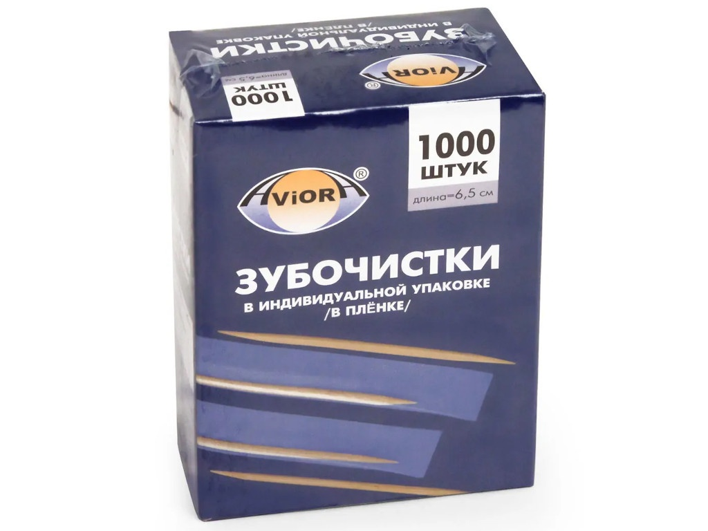 Зубочистки Aviora 1000шт 401-488
