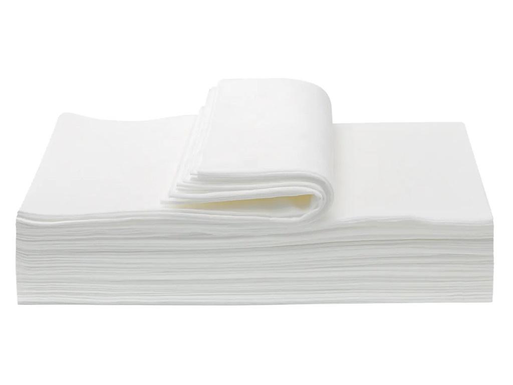 Полотенца Aviora Комфорт спанлейс 35x70cm 50шт White 404-016