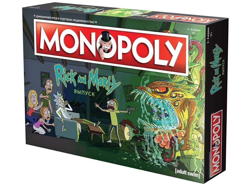 Настольная игра Hobby World Монополия Рик и Морти 503386