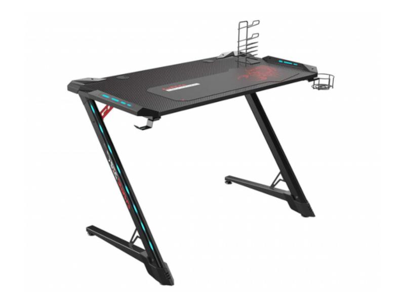 Стол Eureka Z1-S Pro RGB Black ERK-Z1S-PRO-43B стол для компьютера eureka z1s