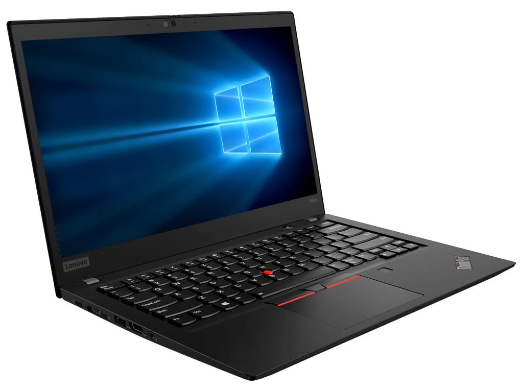 Ноутбук Lenovo ThinkPad T495s 20QJ000GRT (AMD Ryzen 5 3500U 2.1GHz/16384Mb/512Gb SSD/AMD Radeon RX Vega 8/Wi-Fi/Bluetooth/Cam/14.0/1920x1080/Windows 10 Pro 64-bit)