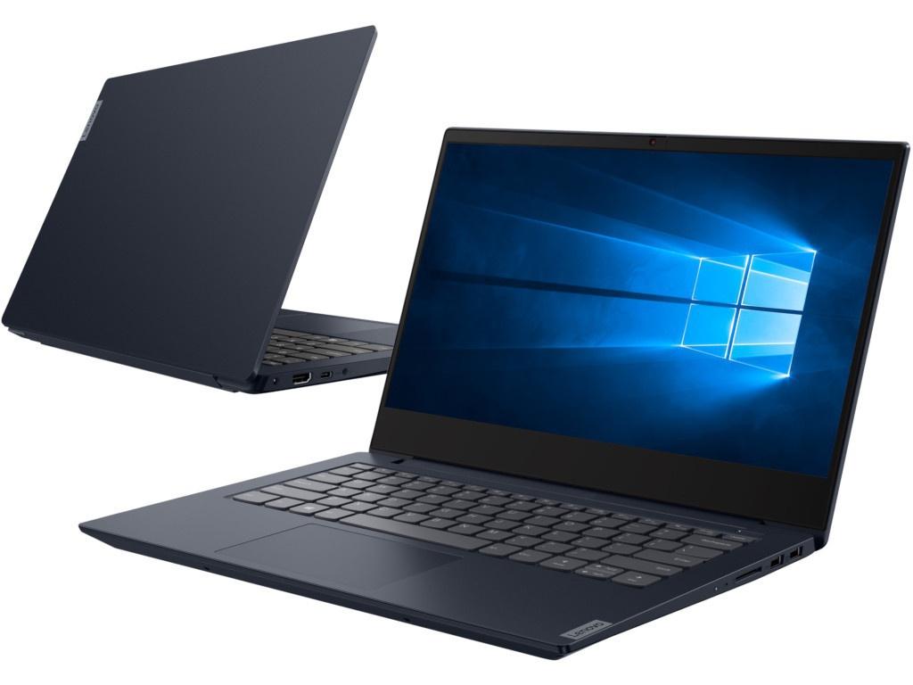 Ноутбук Lenovo IdeaPad S340-14IIL Blue 81VV00HGRU (Intel Core i3-1005G1 1.2 GHz/8192Mb/256Gb SSD/Intel HD Graphics/Wi-Fi/Bluetooth/Cam/14.0/1920x1080/Windows 10 Home 64-bit) ноутбук lenovo ideapad 330s 15ikb grey 81f501curu intel core i3 8130u 2 2 ghz 8192mb 256gb ssd intel hd graphics wi fi bluetooth cam 15 6 1920x1080 windows 10 home 64 bit