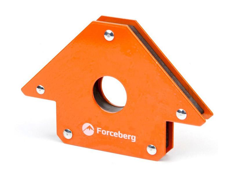 Магнитный угольник для сварки Forceberg для 3 углов до 23кг 9-4014524 угольник магнитный для сварки универсальный 615 34 кг
