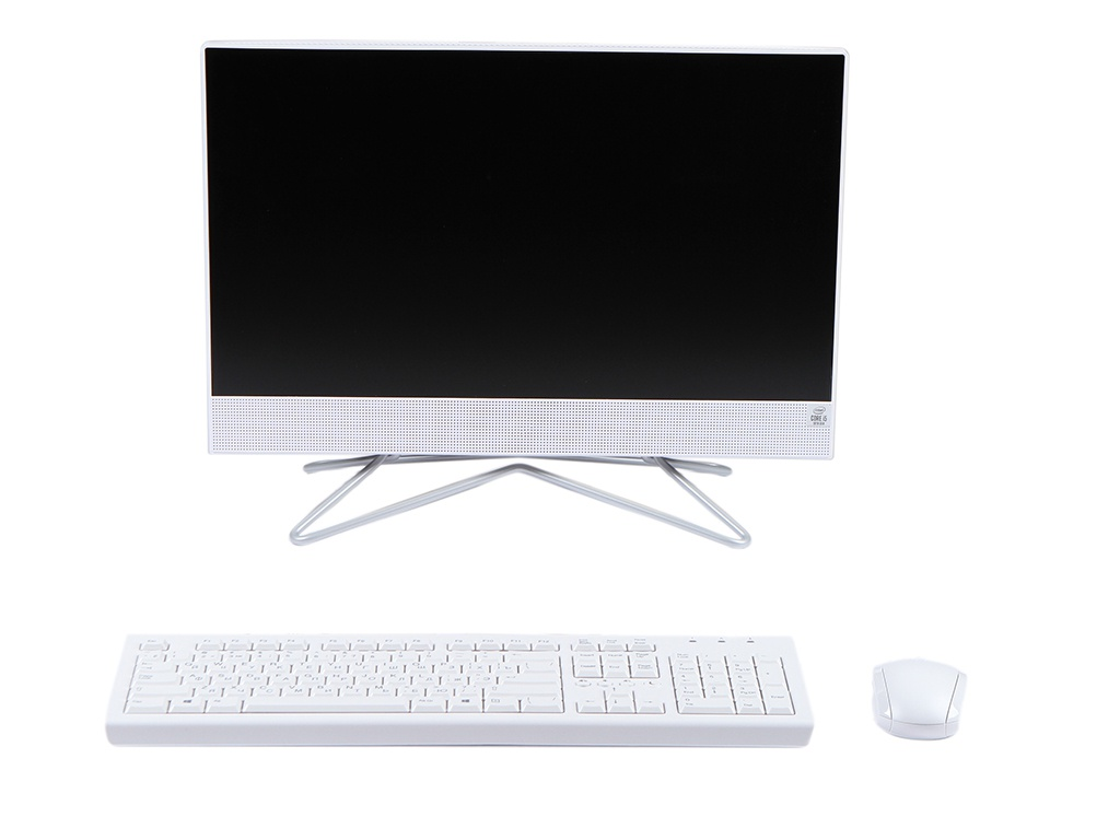 Моноблок HP 22-df0006ur White 14P45EA (Intel Core i5-1035G1 1.0 GHz/4096Mb/1000Gb + 128Gb SSD/nVidia GeForce MX330 2048Mb/Wi-Fi/Bluetooth/Cam/21.5/1920x1080/Windows 10 Home 64-bit)