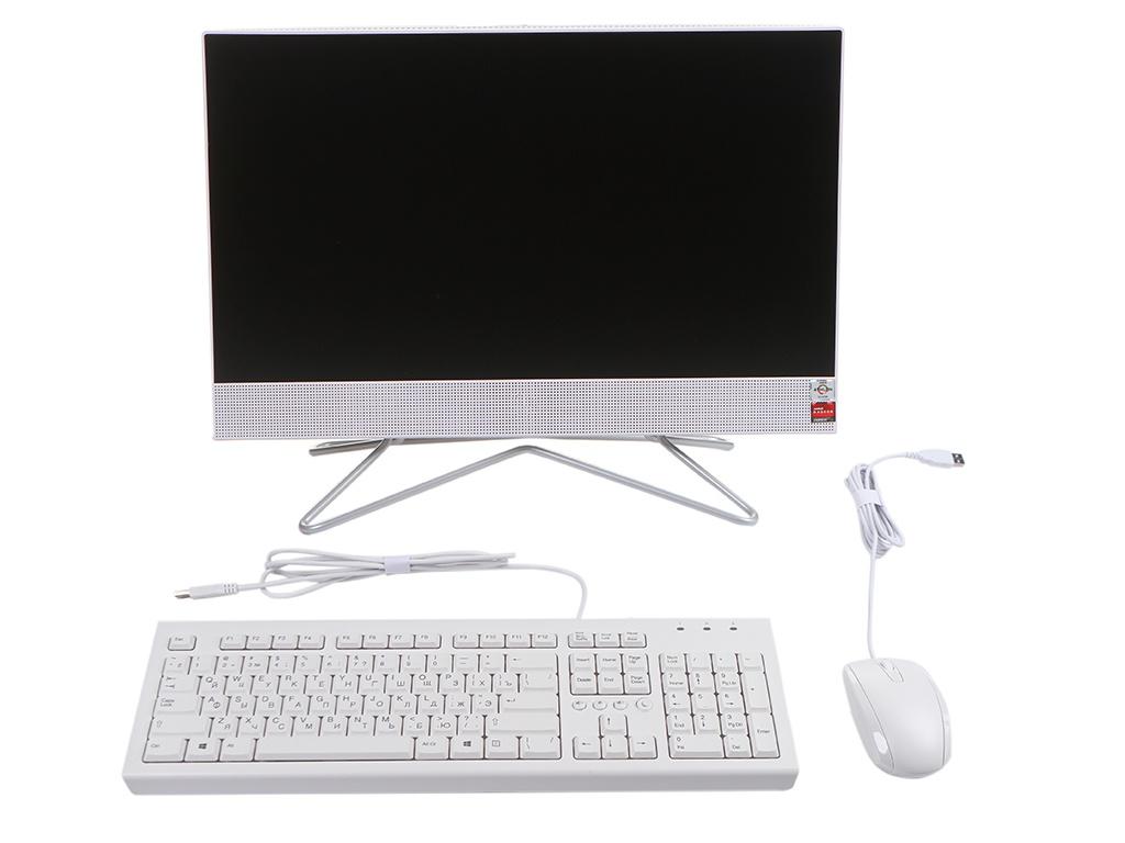 Моноблок HP 22-df0042ur White 14P71EA (AMD Athlon 3050U 2.3 GHz/4096Mb/256Gb SSD/AMD Radeon Graphics/Wi-Fi/Bluetooth/Cam/21.5/1920x1080/Windows 10 Home 64-bit)