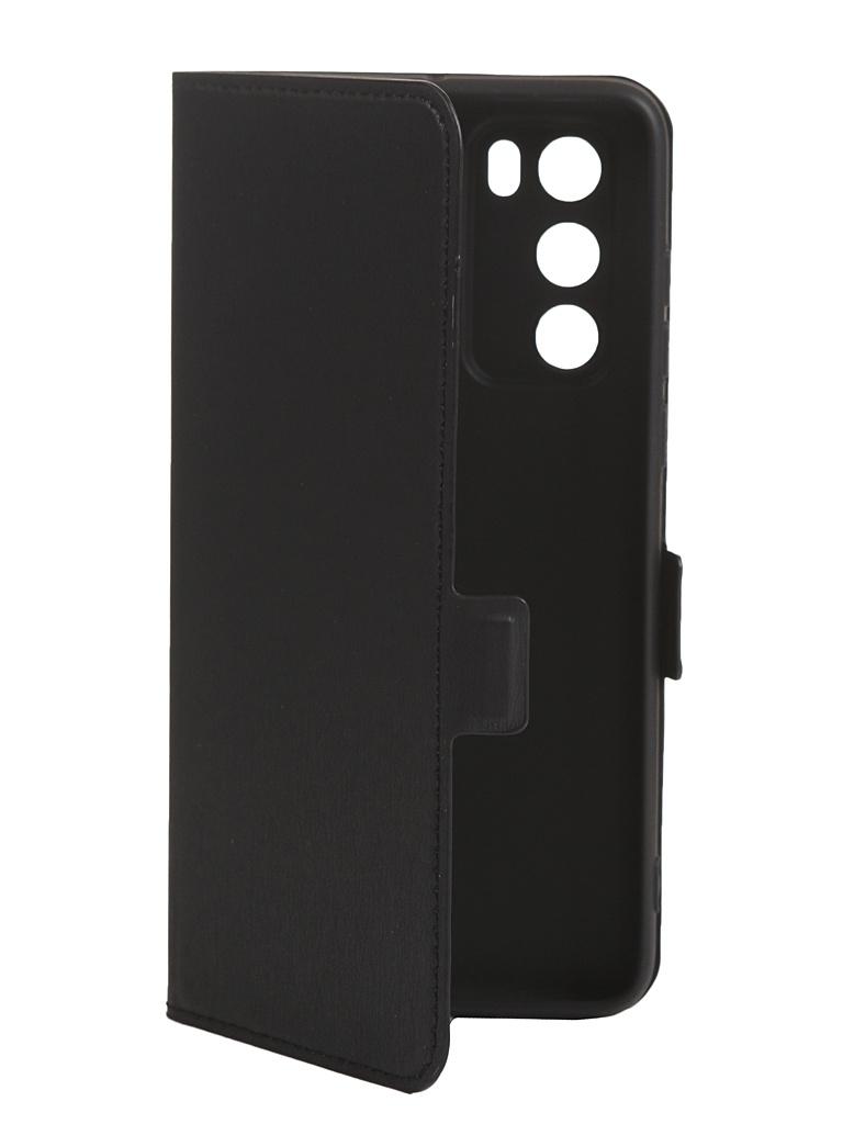 Чехол DF для Huawei P40 Flip Case Black hwFlip-80