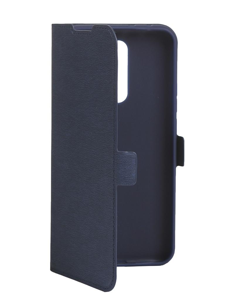 Чехол DF для Xiaomi Redmi 9 Flip Case Blue xiFlip-62