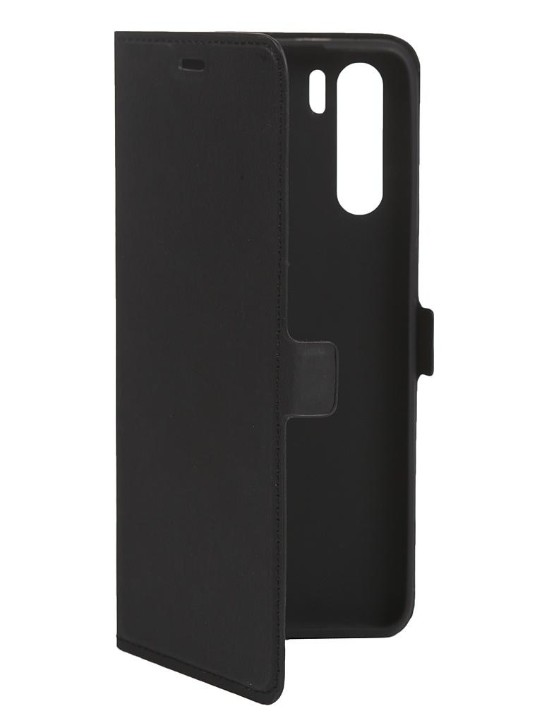 Чехол DF для Oppo A91 Flip Case Black oFlip-09