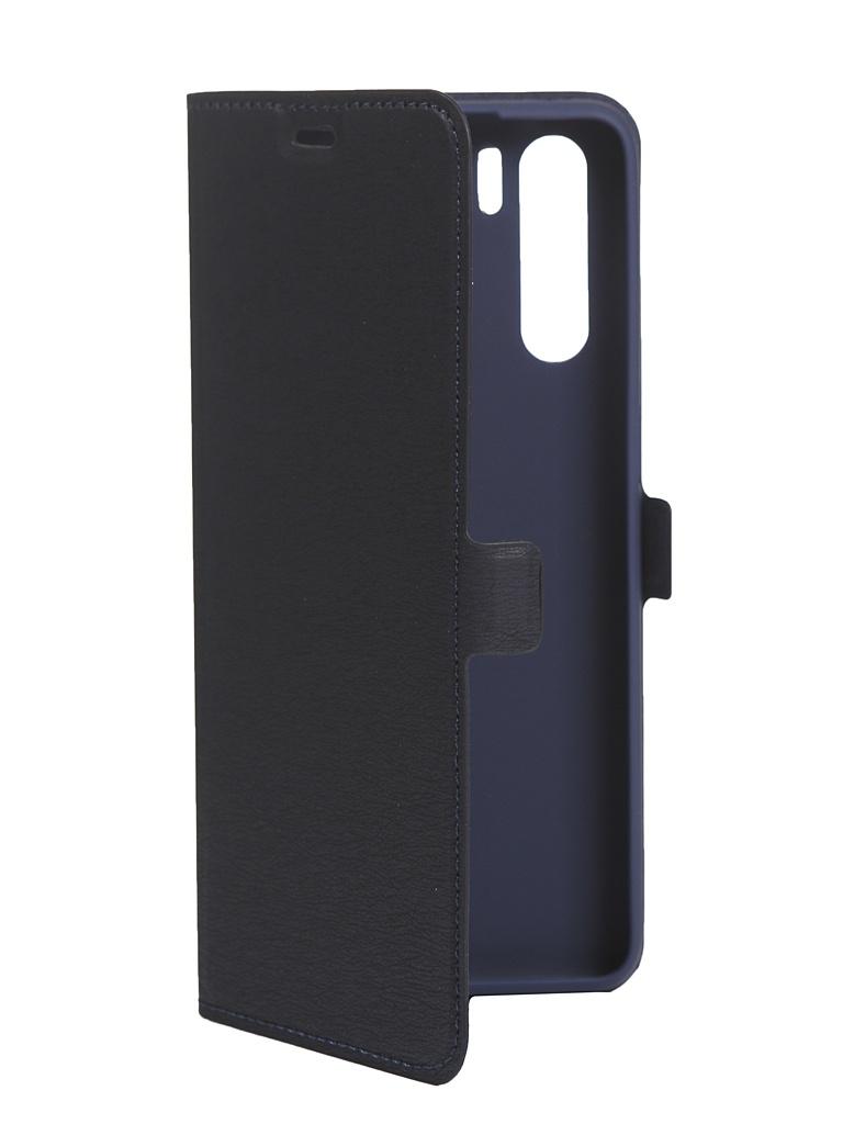 Чехол DF для Oppo A91 Flio Case Blue oFlip-09