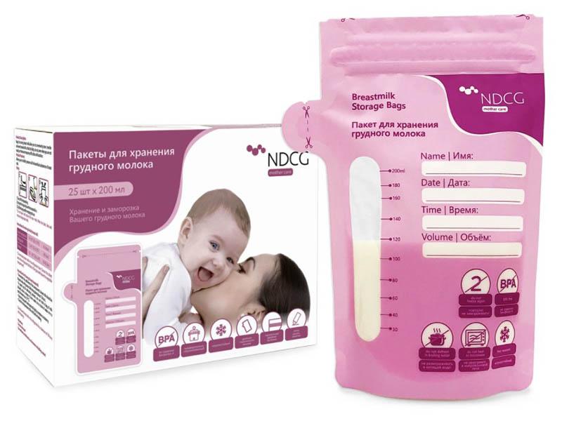 Пакеты для хранения молока Dentalpik NDCG 200мл 25 шт 05.4422-25