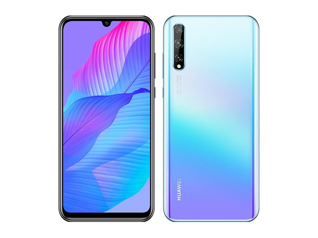 Сотовый телефон Huawei Y8p 4/128Gb Breathing Crystal Выгодный набор + серт. 200Р!!!