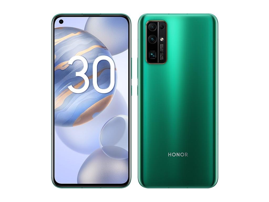Сотовый телефон Honor 30 8/128Gb Emerald Green Выгодный набор + серт. 200Р!!!