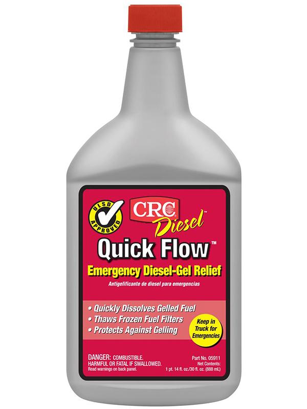 Присадка для дизельного топлива CRC Quick Flow 05911