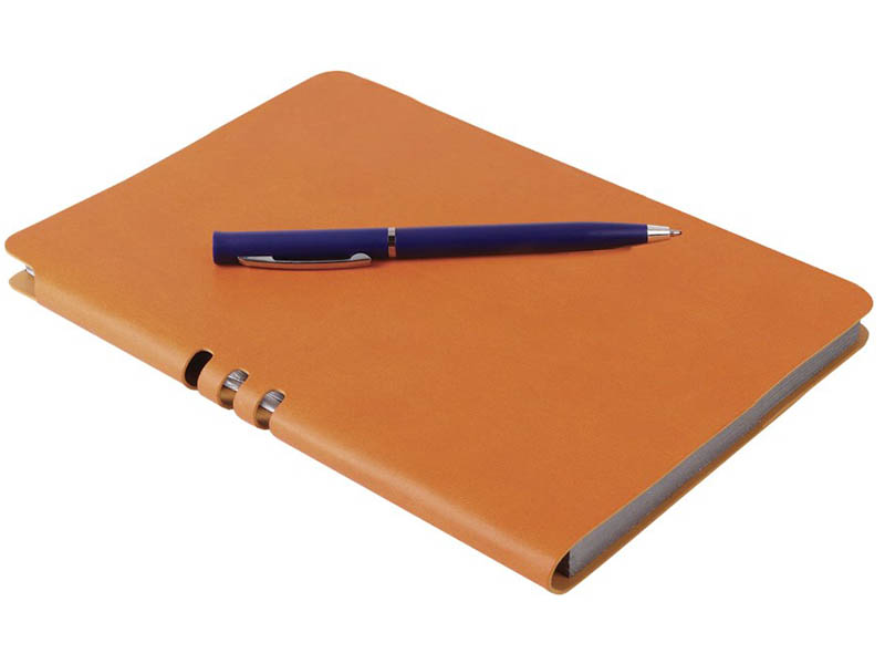Блокнот Brauberg Nebraska А5 112л Orange 110951