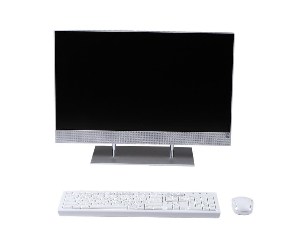 Моноблок HP 27-dp0023ur Silver 14Q56EA (Intel Core i3-1005G1 1.2 GHz/4096Mb/256Gb SSD/Intel HD Graphics/Wi-Fi/Bluetooth/Cam/27.0/1920x1080/Windows 10 Home 64-bit) ноутбук hp 15 dw0005ur intel core i3 8145u 2100 mhz 15 6 1366x768 8gb 256gb ssd no dvd intel uhd graphics 620 wi fi bluetooth windows 10