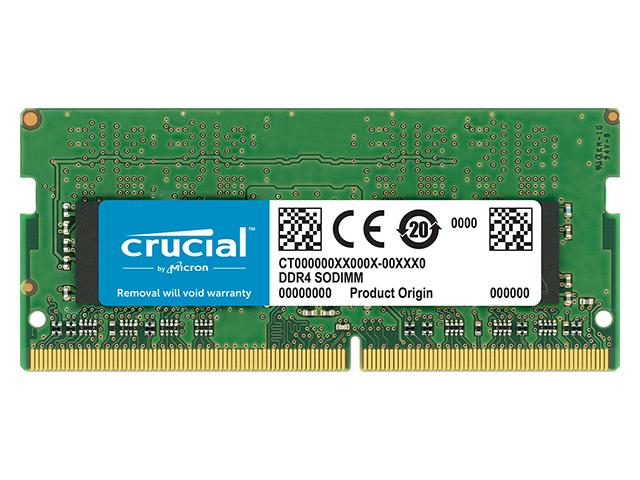 Модуль памяти Crucial DDR4 SO-DIMM 3200MHz PC4-25600 CL22 - 8Gb CT8G4SFS832A