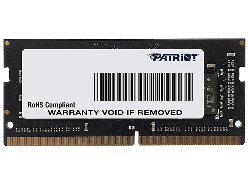 Модуль памяти Patriot Memory Signature DDR4 SO-DIMM 2666MHz PC-21300 CL19 - 16Gb PSD416G26662S