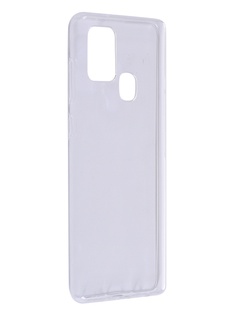 Чехол Zibelino для Samsung Galaxy A21s (A217) Ultra Thin Case Transparent ZUTC-SAM-A217-WHT